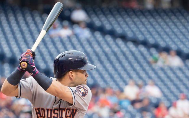 突然、ホセアルトゥーベは野球の最高の選手です