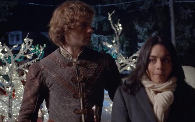 Il cavaliere prima di Natale non ha senso e, francamente, lo adoro