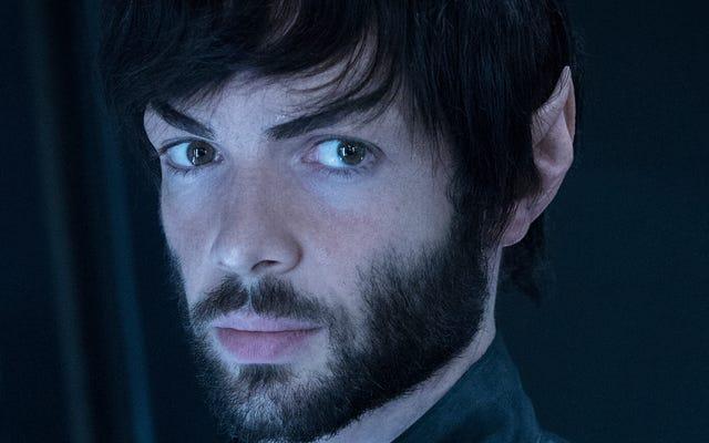 Czy ktoś mógłby ogolić nowego Spocka?