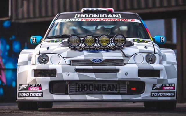 Cosworth de Ken Block tiene un cambio de imagen y más potencia para 2020