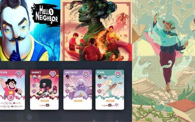 Steven Universe sobresale y Hello Neighbor tiene identidad oculta en las últimas noticias de juegos