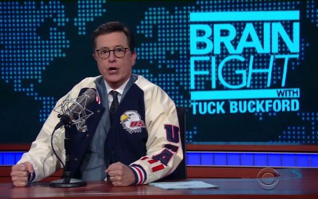 Stephen Colbert, The Late Show'da Alex Jones'u geride bıraktı