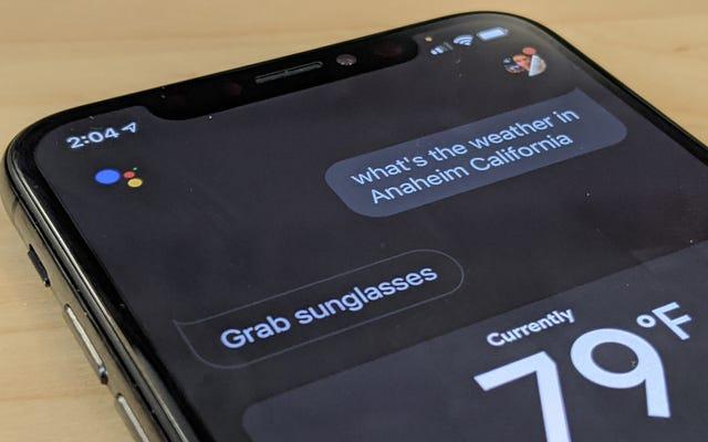 Inicie Google Assistant en su iPhone tan rápido como Siri