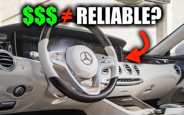 Đây là lý do tại sao những chiếc xe đắt tiền không phải lúc nào cũng đáng tin cậy