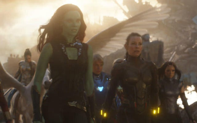 Zoe Saldana tampoco está muy segura de lo que le sucede a Gamora después del final del juego