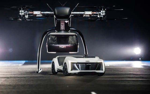 Ide Masa Depan Audi dan Airbus adalah Modular Drone Taxi