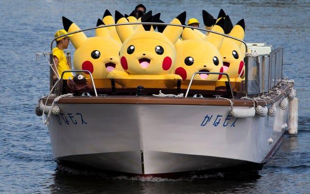 Ngắm nhìn hàng ngàn chú Pikachus vui vẻ nhảy múa khắp thành phố Nhật Bản này