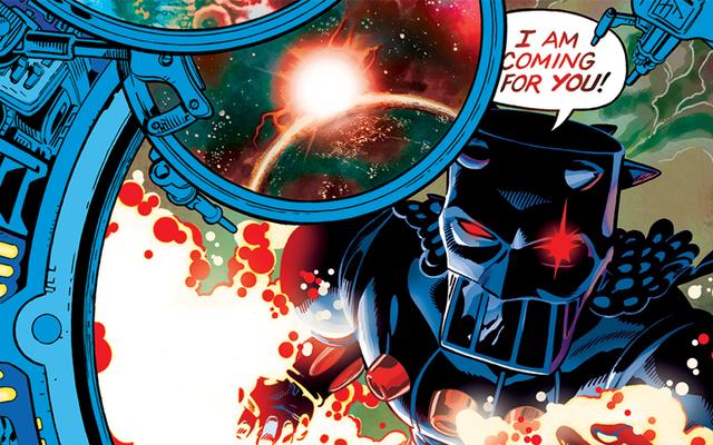 Micronautsのコミックへの復帰の初見