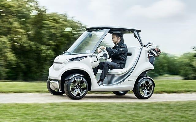 どうやらそれらは再発明を必要としていたので、メルセデスベンツゴルフカートがあります