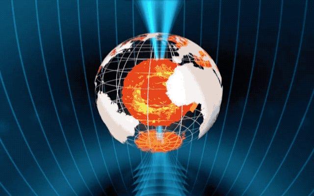 Scoprono che i poli del campo magnetico terrestre possono essere invertiti molto più velocemente di quanto pensassimo