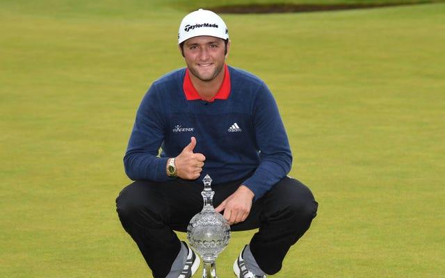 Jon Rahm, Top Yerleştirme Tartışmasının Ardından Dubai Duty Free İrlanda Açık Turnuvasını Kazandı