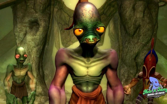 Oddworld:New'N 'Tasty Guilted Me Into My First 100%Completion