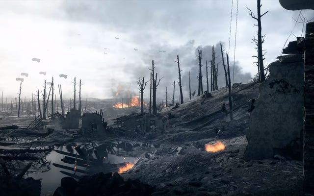 """La superbe """"bande-annonce"""" de Battlefield a été tournée entièrement avec de vrais joueurs sans méfiance"""