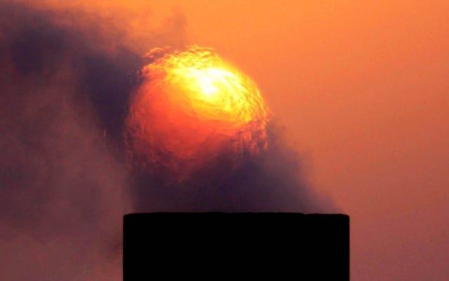 Irán alcanzó los 129 grados ayer, rompiendo el récord de calor de Asia en junio