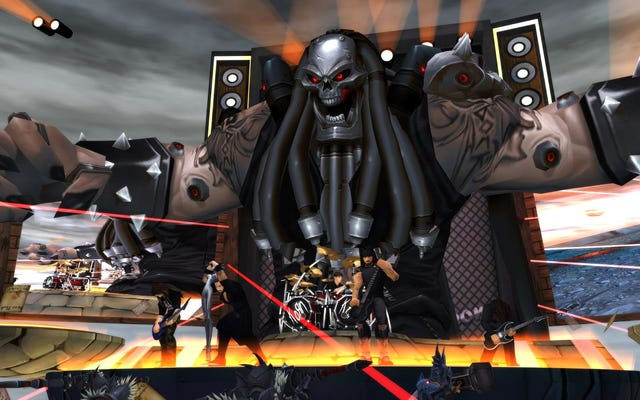 Tôi đã xem Korn chơi một buổi hòa nhạc trong một MMORPG và điều đó thật tuyệt vời