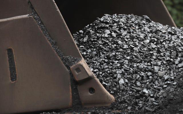 インディアナ州は、何らかの理由で石炭産業を救済しようとしています