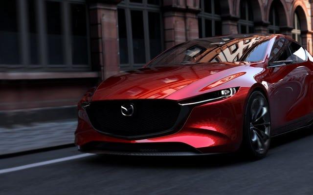 Mazda Kai Concept: se la prossima Mazda 3 sembra così bella, dovremmo dare una festa