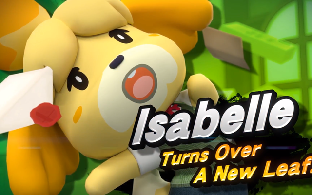 Internet phản ứng với Isabelle của Animal Crossing trong Smash