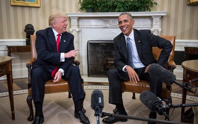 Cuando todo lo demás falla, culpe al negro: Trump pide una investigación del Congreso sobre las escuchas telefónicas de Obama