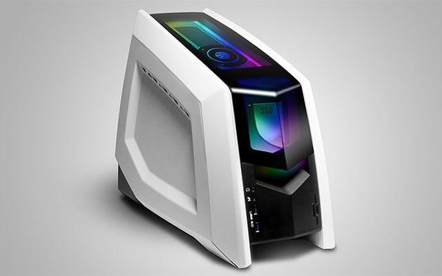 Máy tính chơi game Revolt 2 mang card đồ họa giống như một chiếc mũ xinh xắn