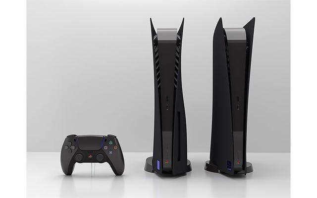 """Les PS5 noires personnalisées sont mises en vente, alors ne le faites pas, après que le site Web a affirmé """"des menaces crédibles pour [leur] sécurité"""""""