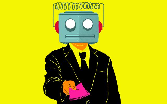 「ロボット」は「あなたの仕事のためにやってくる」ではありません—管理は