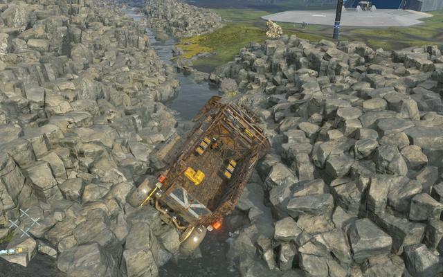 デスストランドアップデートにより、プレイヤーはマルーンカーを削除できます
