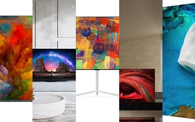 Tutti i migliori nuovi televisori annunciati al CES 2021