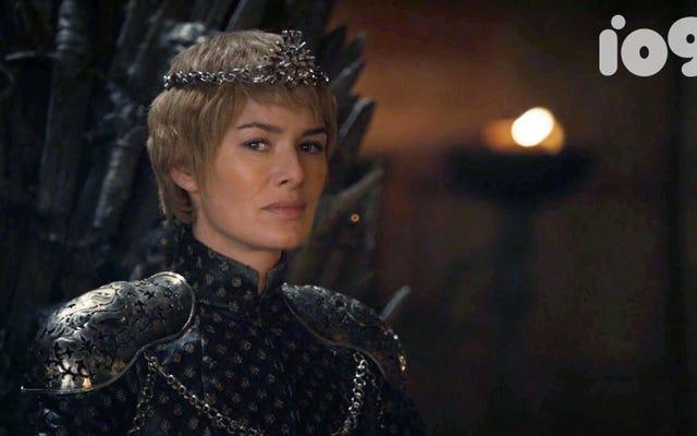 Cersei Lannister s'est levée au sommet d'un royaume en ruine