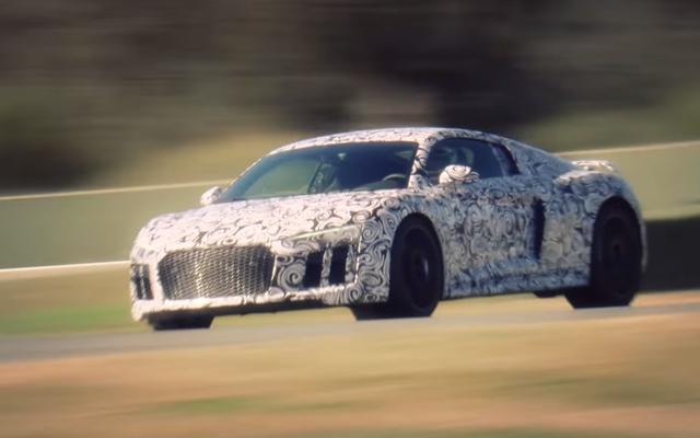 2016 ऑडी R8 को पाठ्यक्रम के कारण अंततः एक ट्विन-टर्बो V6 मिल सकता है