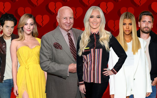 Rupturas de celebridades en 2020 que demostraron que el amor ha muerto