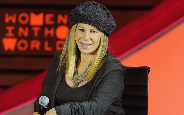 Барбра Стрейзанд адаптирует цыганку для большого экрана и играет маму Роуз