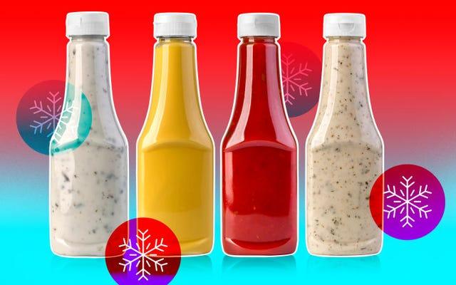 Saus atau bumbu apa yang harus disimpan di lemari es (dan mana yang tidak boleh)