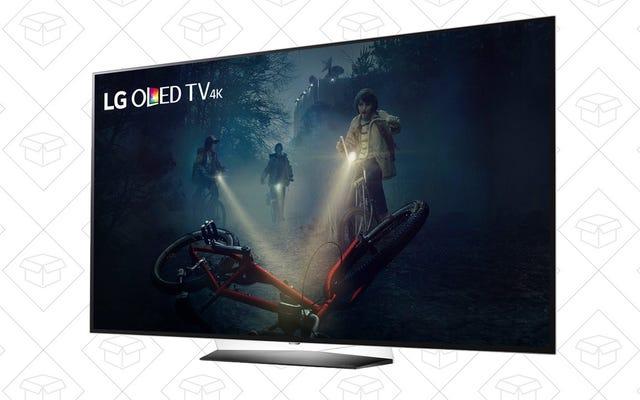 Perdez-vous dans les profondeurs noires d'encre de ces téléviseurs OLED 4K à prix réduit [Mise à jour: De retour en stock]