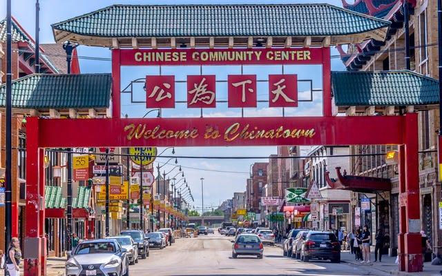 Bir Çin restoranında koronavirüs kapamazsınız, bu yüzden lütfen tekrar Çin mahallesinde yemeye başlayın