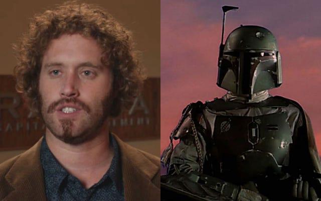 TJ Miller joue essentiellement Boba Fett dans Ready Player One de Steven Spielberg