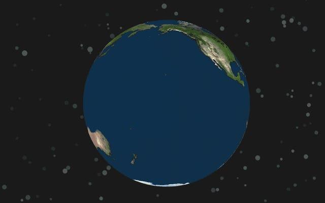 Dünya şu anki hızının iki katında dönmeye başlarsa ne olur?