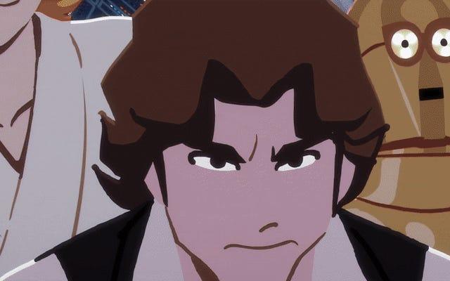 このアニメーションスターウォーズショートでハンソロが悪党からヒーローに成長するのを見てください