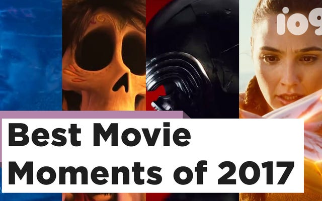 2017年の最高、最悪、そして最も忘れられない映画の瞬間