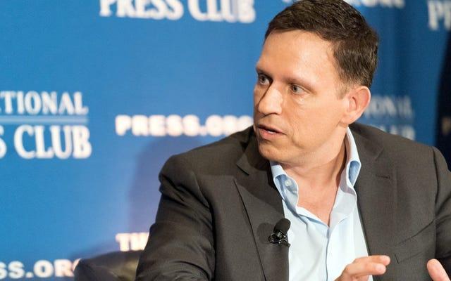 Peter Thiel va a Washington