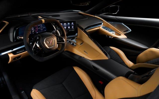 C'est le seul intérieur de la Chevrolet C8 Corvette que vous devriez obtenir