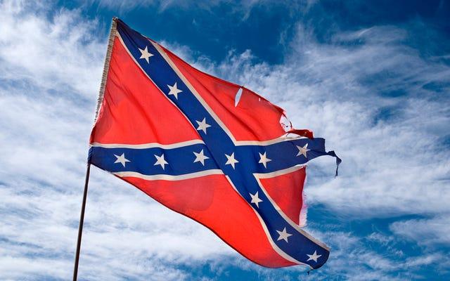 高校生がクラスメートの南軍旗プロジェクトをスミザリーンズに打ち砕く