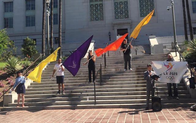 Cuộc chiến chống lại Thế vận hội Los Angeles vẫn chưa kết thúc