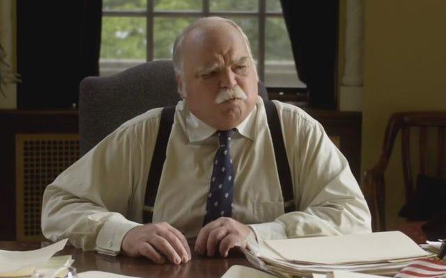 リチャード・リールは、彼の長いキャリアと短い口ひげについて、数回剃ったことも含めて