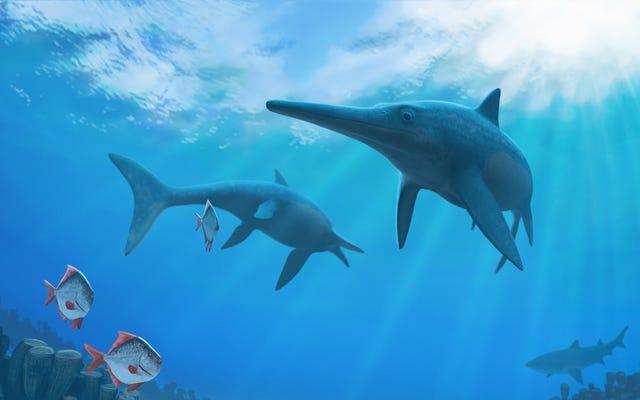 ดูเหมือนว่าการเปลี่ยนแปลงสภาพภูมิอากาศจะผลักดันให้สัตว์เลื้อยคลานในทะเลยักษ์เหล่านี้สูญพันธุ์