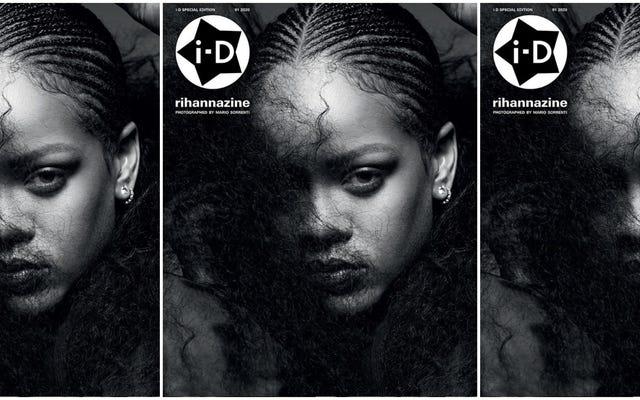 Parce que trop de Rihanna ne suffit jamais, il y a maintenant une `` Rihannazine ''