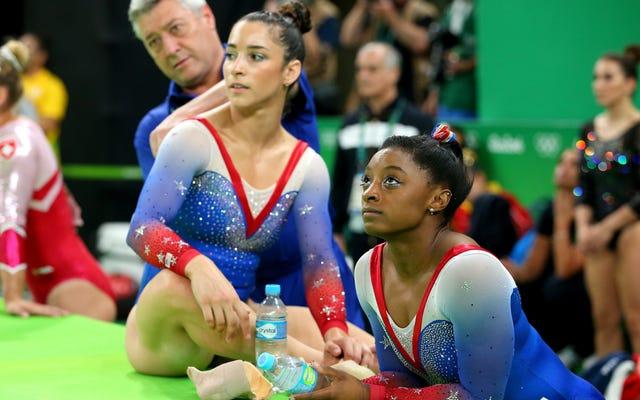 アリー・レイズマンとシモーネ・バイルズは米国体操のハッシュマネーを望んでいません