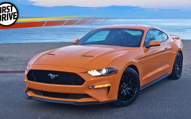 La Ford Mustang 2018 porta un sacco di potere alle persone
