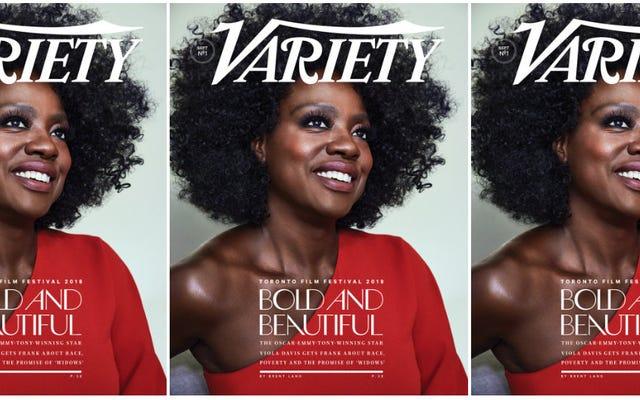 Aリストを目指していますか?ヴィオラ・デイビスが彼女の自然な髪の毛の包摂、不平等、演技について語る