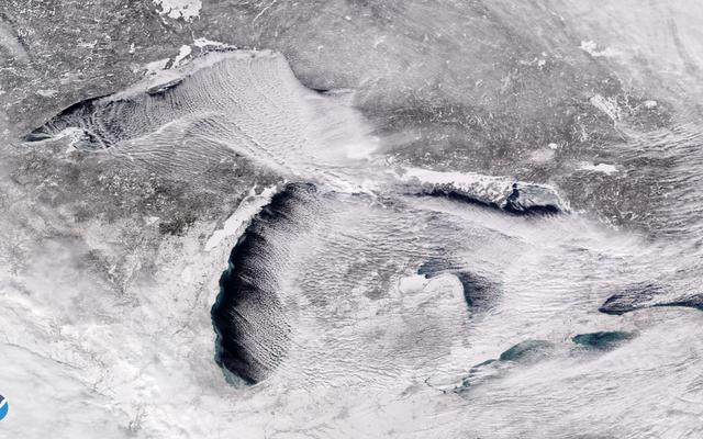 極渦は、低温記録の急増を設定しました